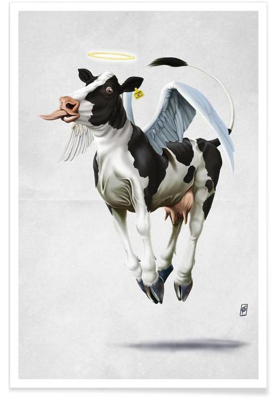 Holy Cow (wordless) Poster