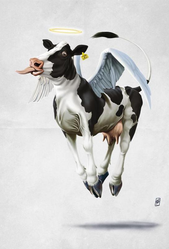 Holy Cow (wordless) Acrylic Print