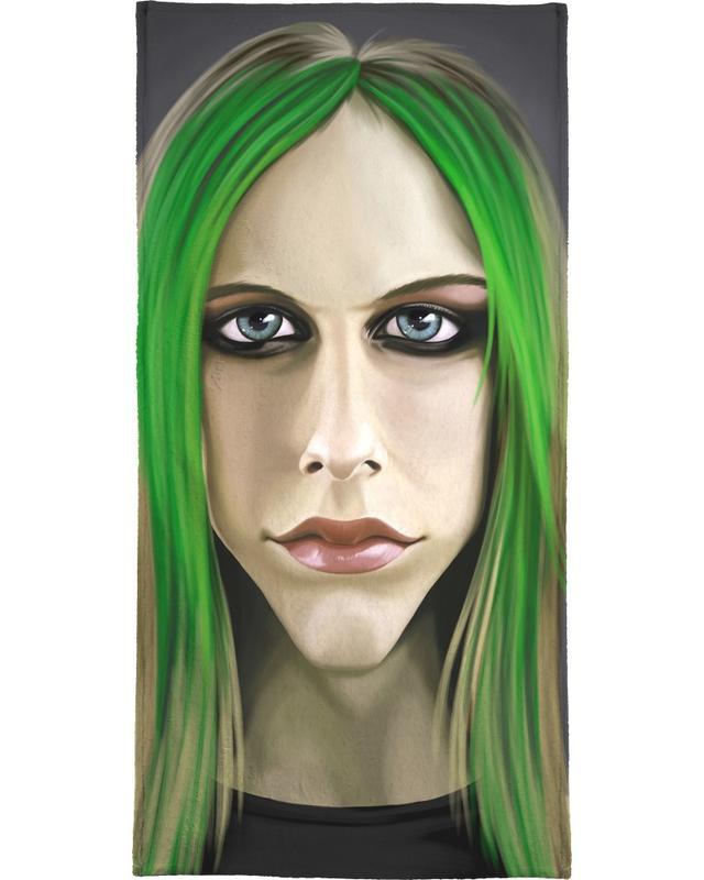 Avril Lavigne -Handtuch
