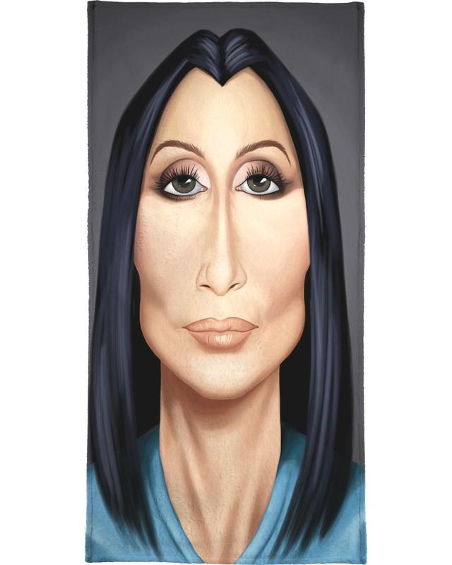 Cher -Handtuch