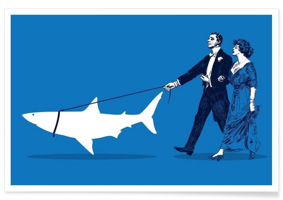 Walking The Shark -Poster