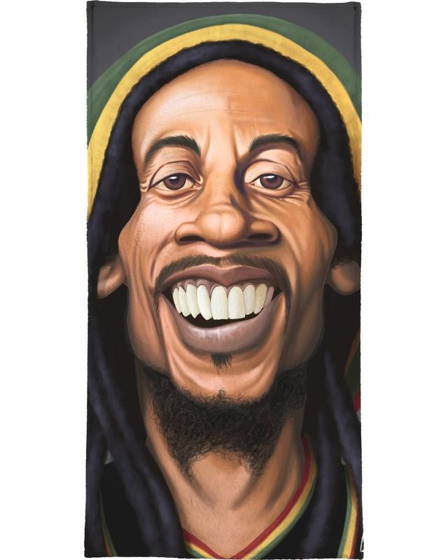 Bob Marley -Handtuch
