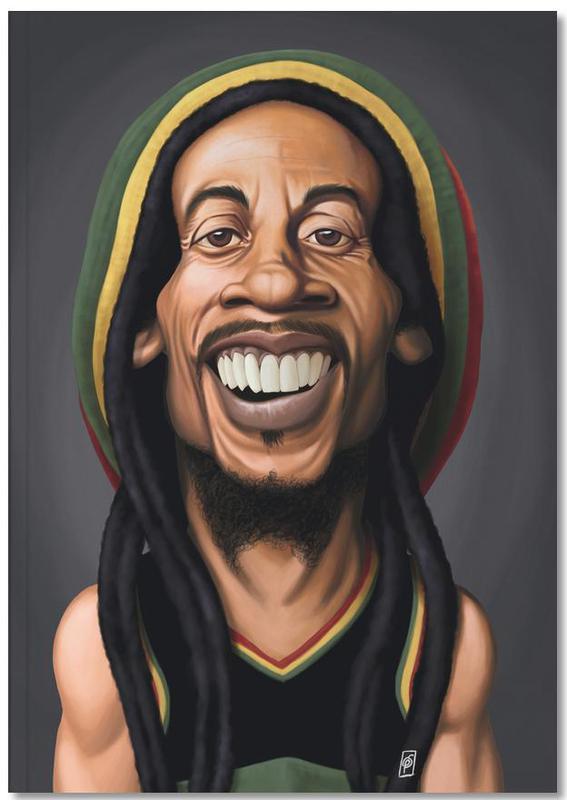Bob Marley Notebook
