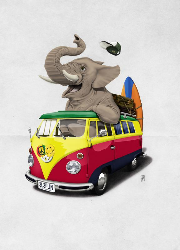 Pack the trunk canvas doek