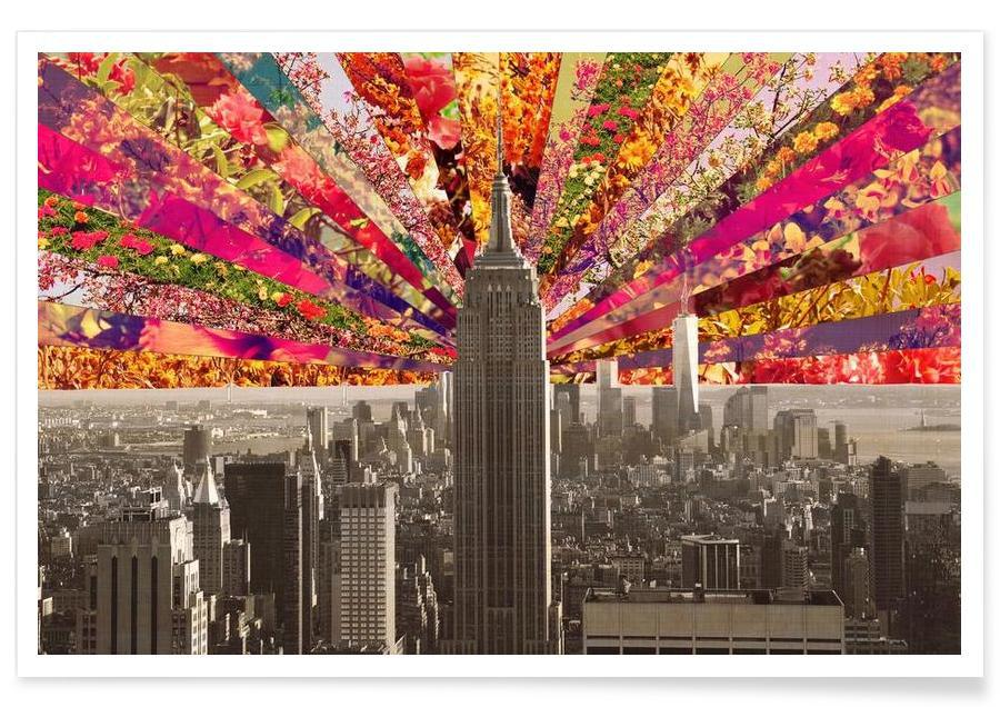 Blooming NY Poster