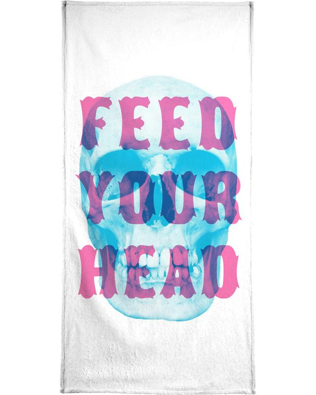 FEED YOUR HEAD -Handtuch