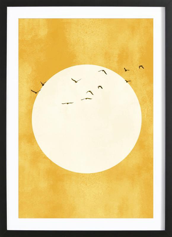 Eternal Sunshine -Bild mit Holzrahmen