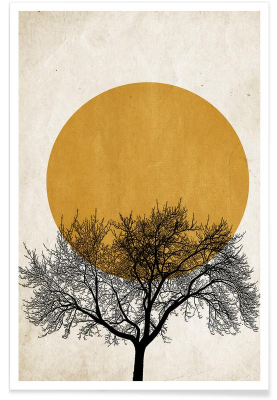 Wintermorgen Poster