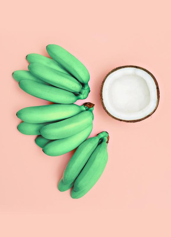 Banana Colada canvas doek