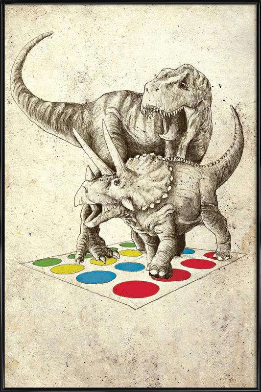 The Ultimate Battle ingelijste poster