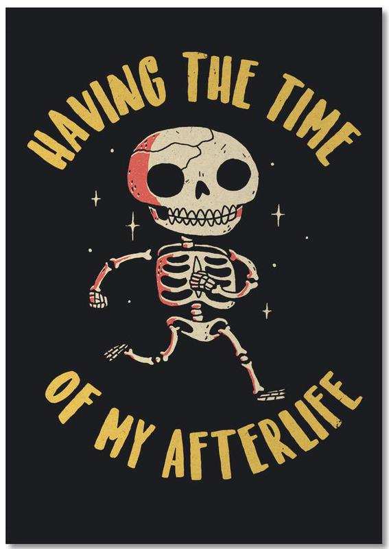 The Time Of My Afterlife -Notizblock