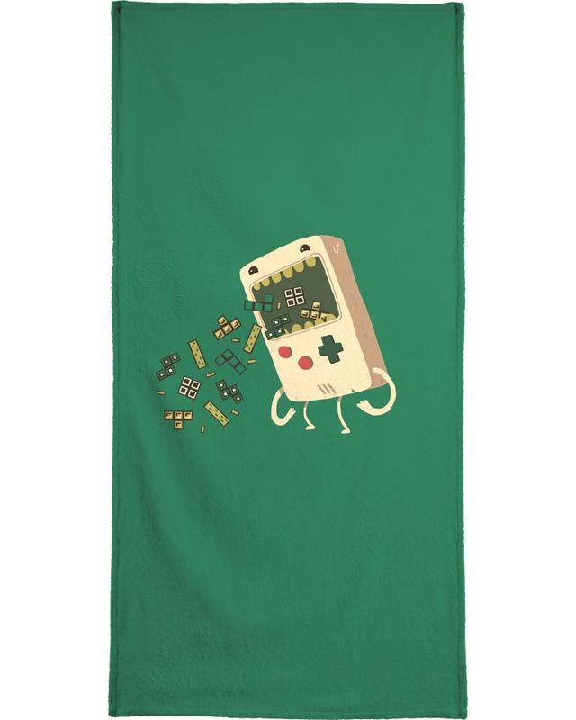 Pixel Puke -Handtuch