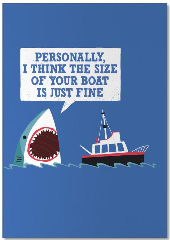 Polite Jaws Notepad