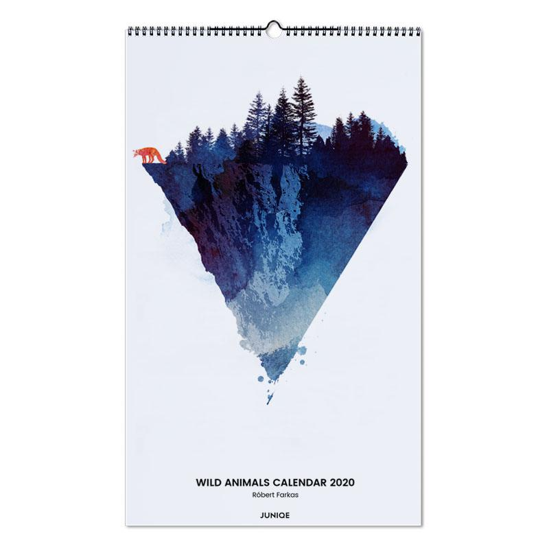 Wild Animals Calendar 2020 - Róbert Farkas -Wandkalender