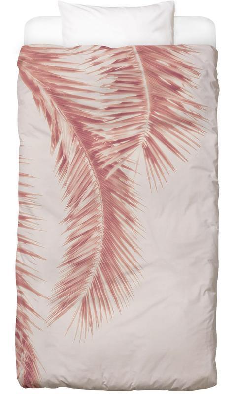 Rose Palm Leaves Bettwäsche