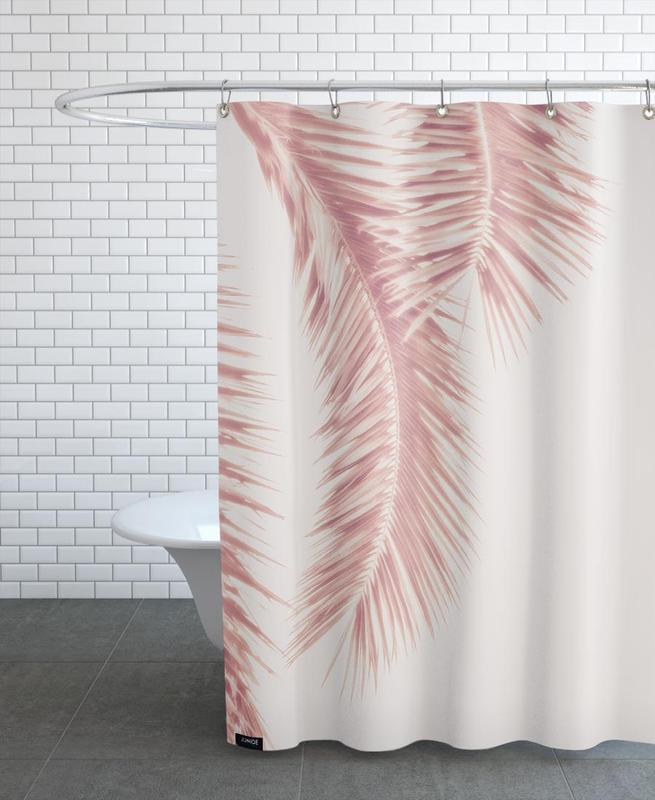 Rose Palm Leaves -Duschvorhang