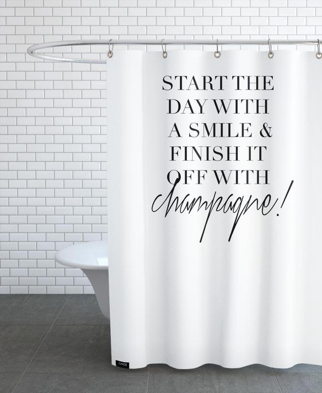 Start -Duschvorhang