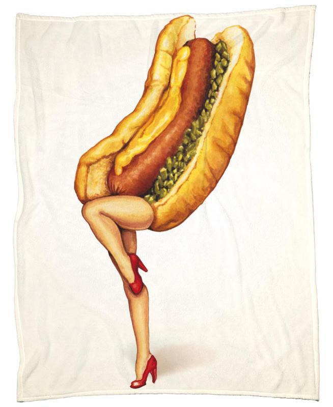 Hotdog Girl plaid