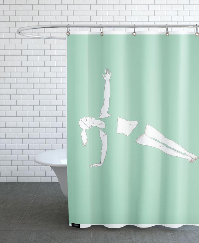 Yoga Practice 5 Shower Curtain