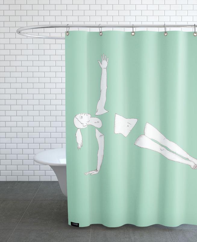 Yoga Practice 17 Shower Curtain