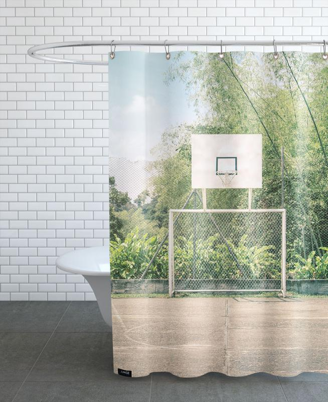Streetball Courts 2 Manizales Colombia Shower Curtain