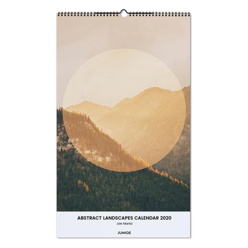 Abstract Landscapes Calendar 2020 - Joe Mania Wall Calendar