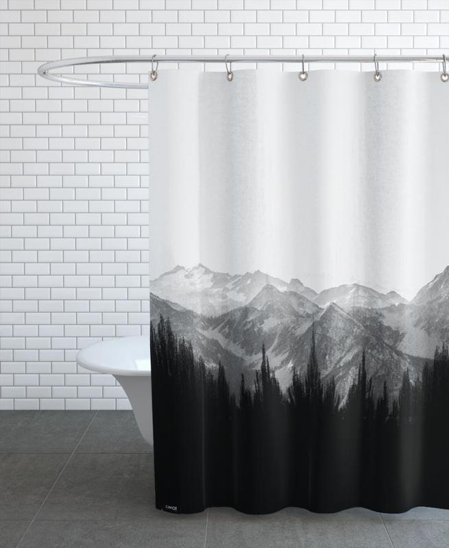 Brush Mountains Shower Curtain