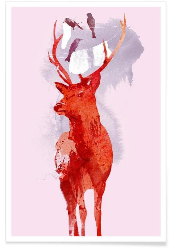 Useless deer Poster