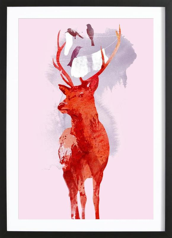 Useless deer Framed Print