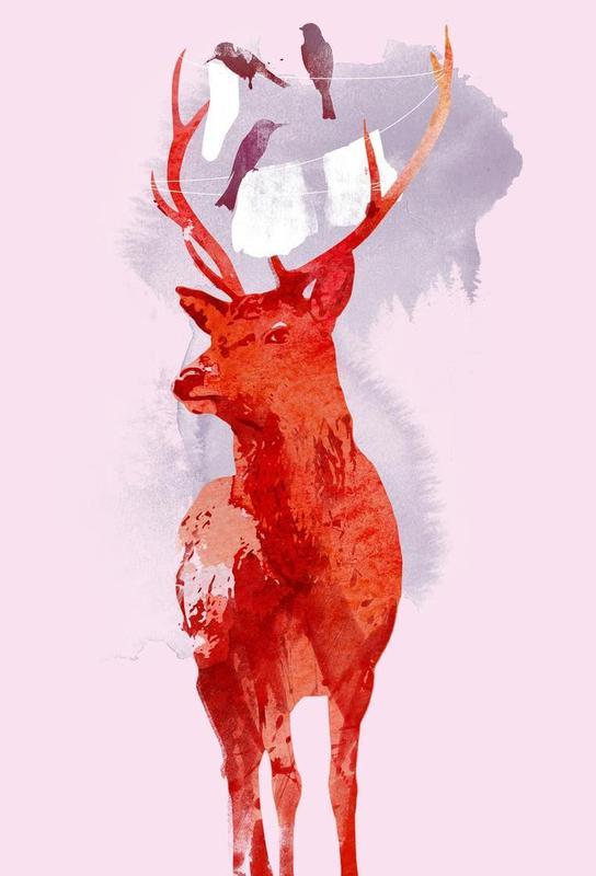 Useless deer Acrylic Print