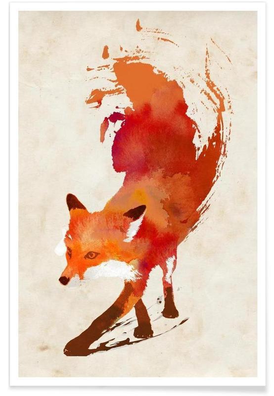 Vulpes vulpes poster