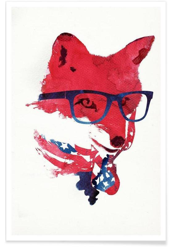 American Fox affiche