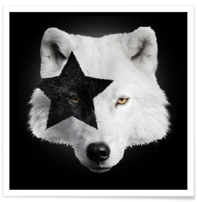 Kiss Of A Wolf Poster
