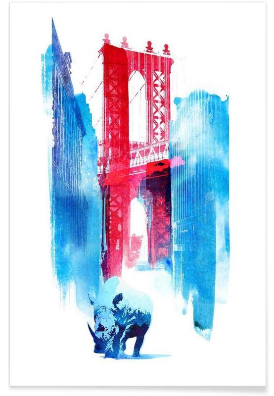 Manhattan Bridge affiche