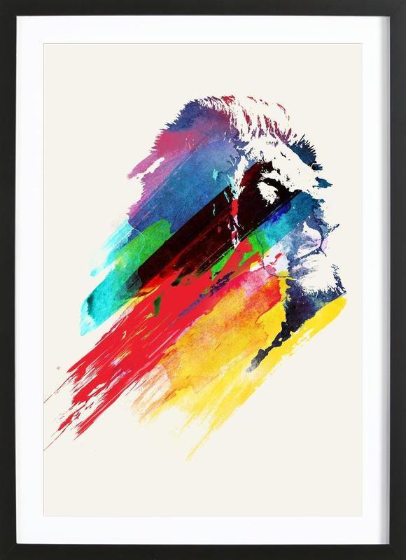 Our Hero Framed Print