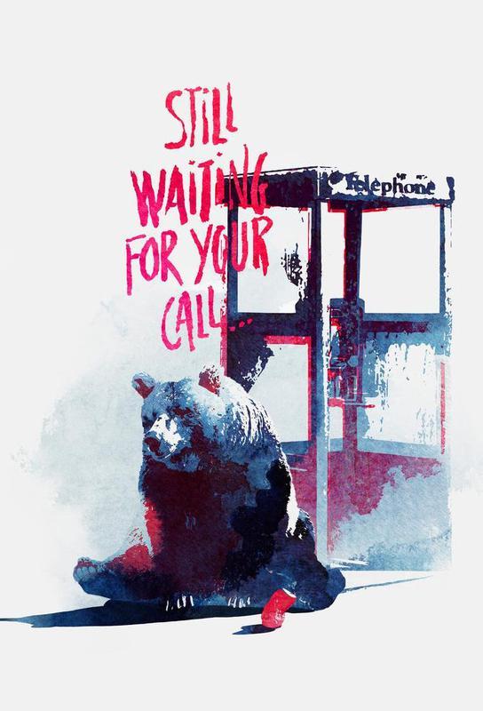 Waiting for your call -Acrylglasbild