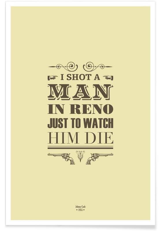 I Shot a Man in Reno affiche
