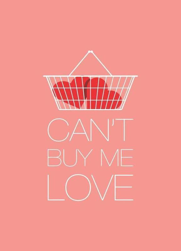 Can't Buy Me Love -Leinwandbild