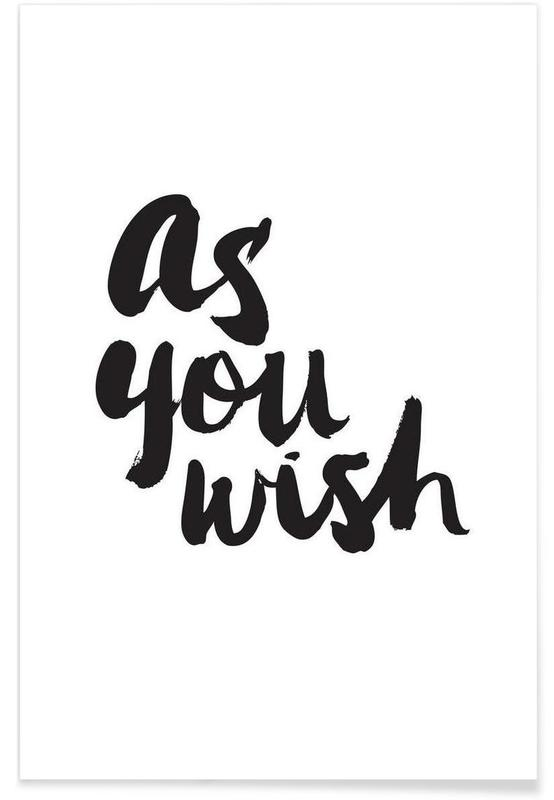 As You Wish -Poster