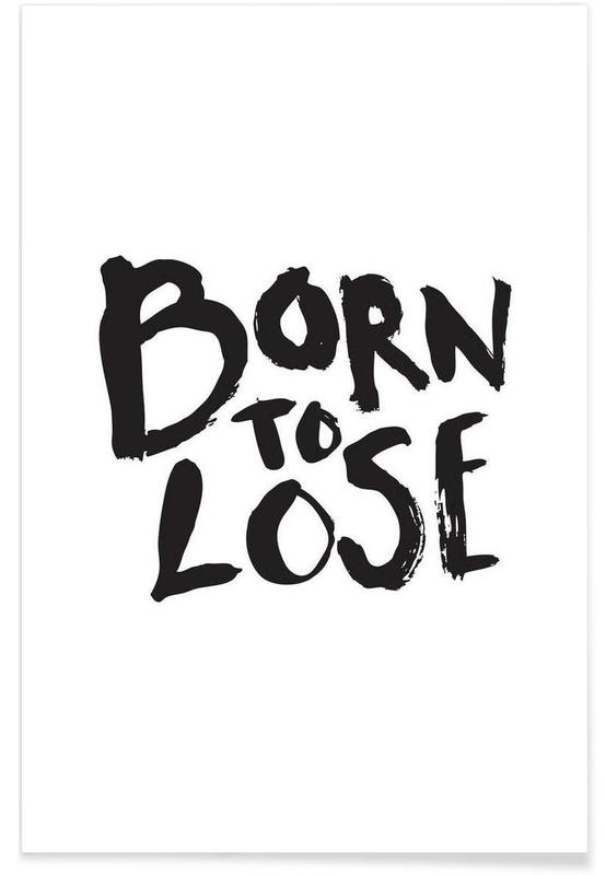 Born to Lose Poster