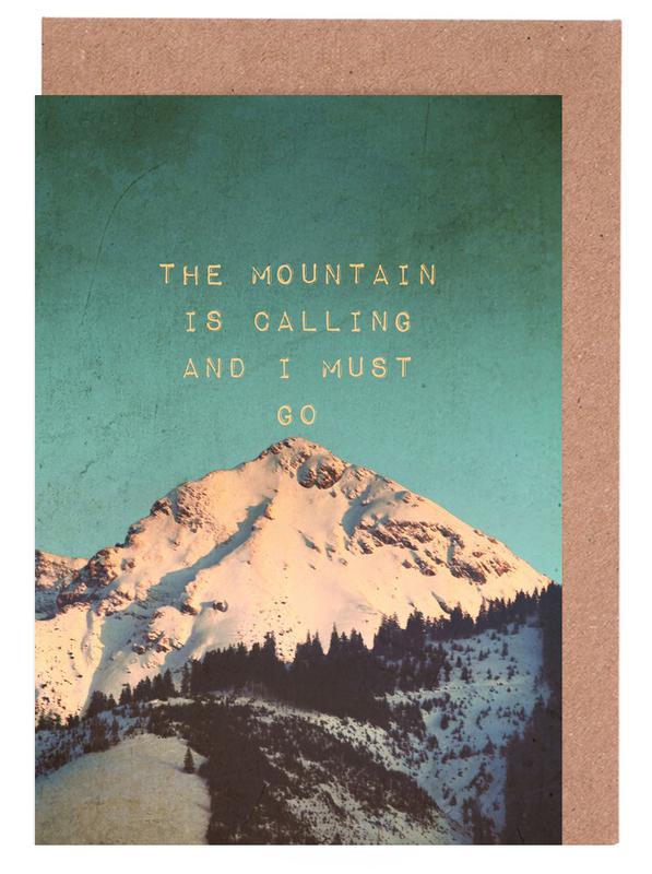 Mountain Is Calling Greeting Card Set