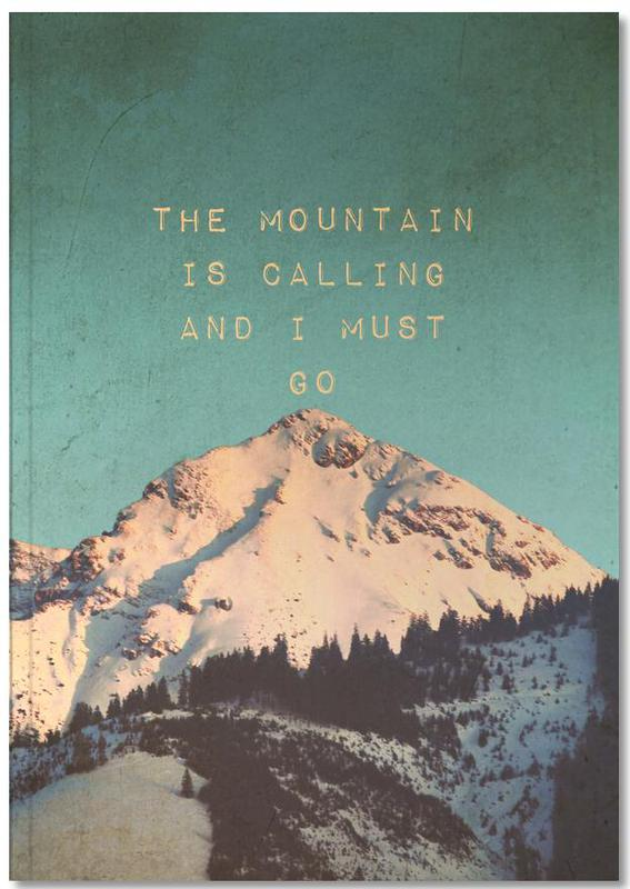 Mountain Is Calling Notebook