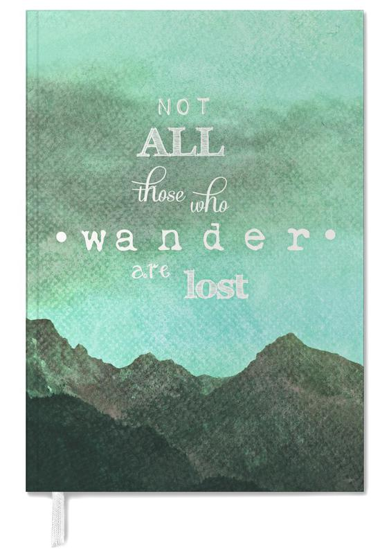 Not All Those Who Wander Are Lost Personal Planner