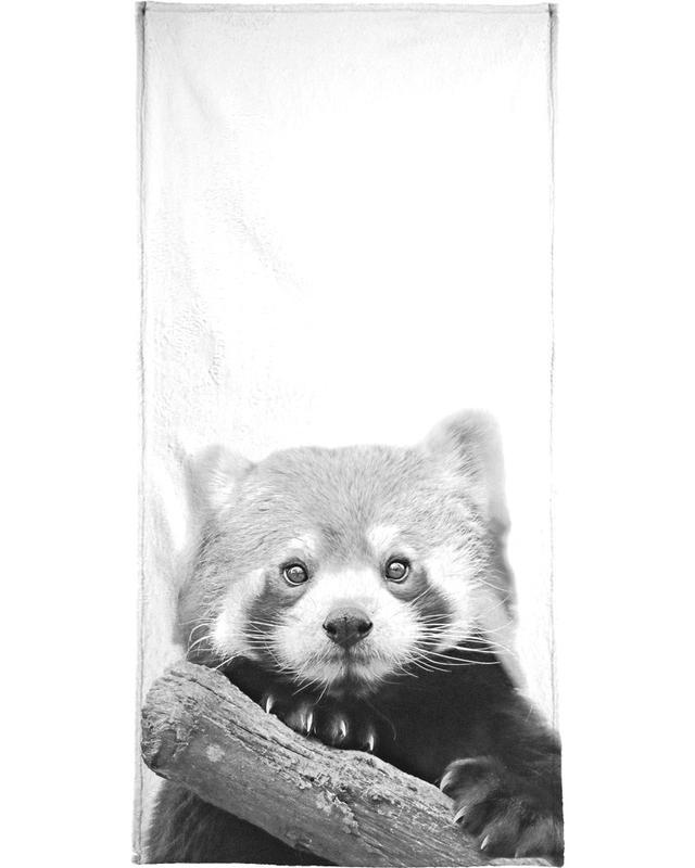 Red Panda serviette de bain