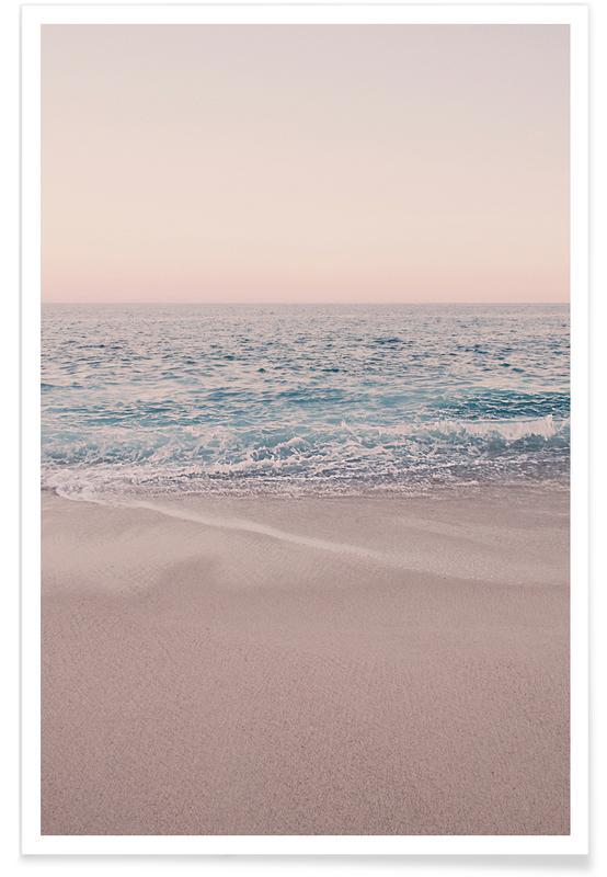 Rosegold Beach Morning affiche