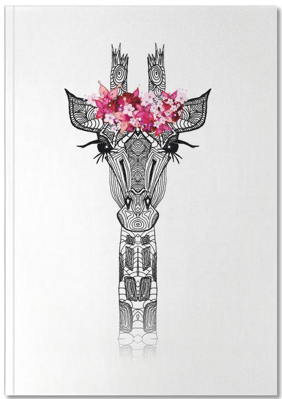 Flower Girl Giraffe Notebook