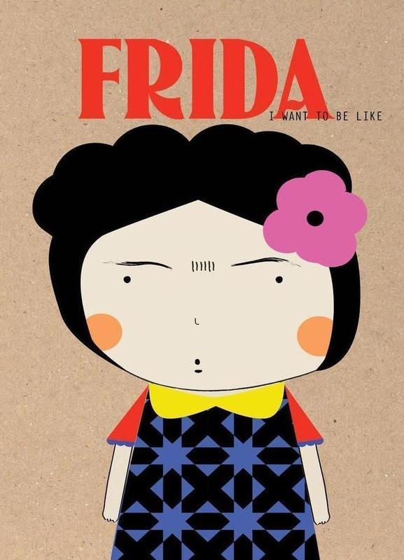 Little Frida -Leinwandbild