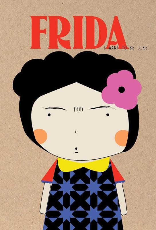 Little Frida -Acrylglasbild