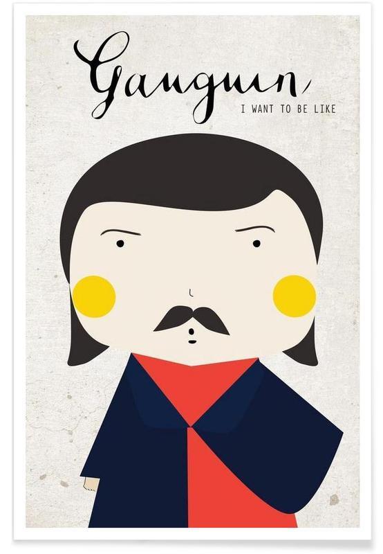Little Gaughin Poster