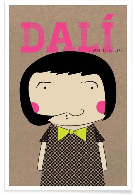 Little Dalí -Poster